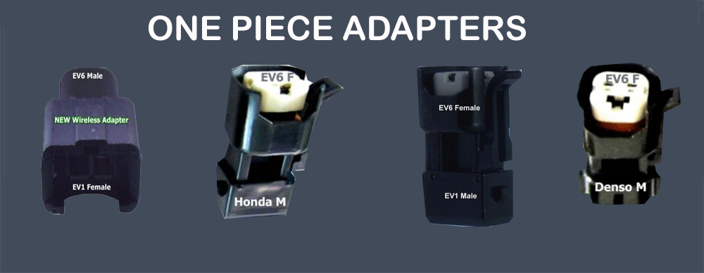 One piece adapters